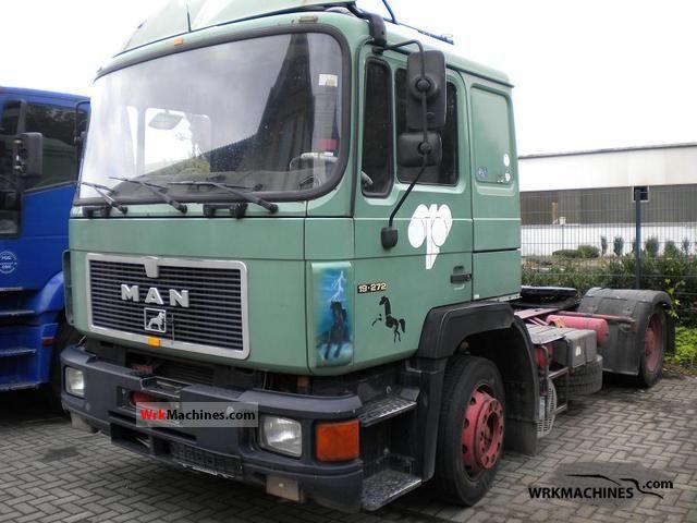 1995 MAN M 90 18.272 Semi-trailer truck Other semi-trailer trucks photo