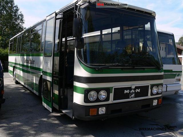 1987 MAN SG 240 Coach Cross country bus photo