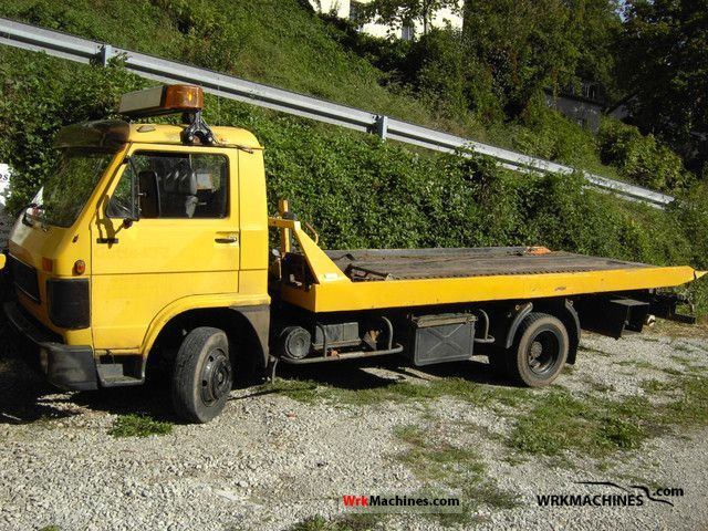 1988 MAN G 90 8.150 Van or truck up to 7.5t Breakdown truck photo