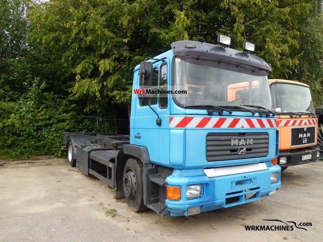 1994 MAN F 90 19.322 Truck over 7.5t Chassis photo