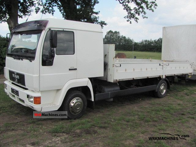 1994 MAN L 2000 8.153 Van or truck up to 7.5t Stake body photo