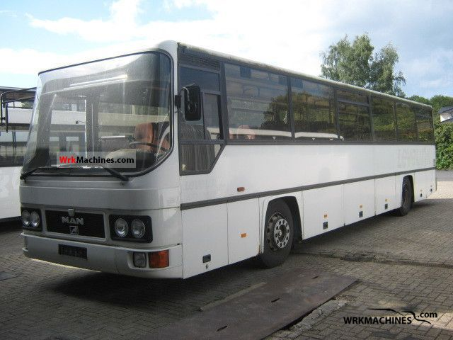 1992 MAN SG 242 Coach Cross country bus photo