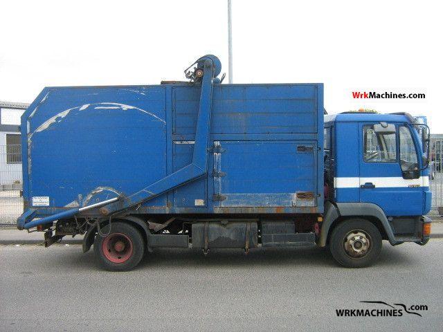 1994 MAN L 2000 10.163 Truck over 7.5t Refuse truck photo