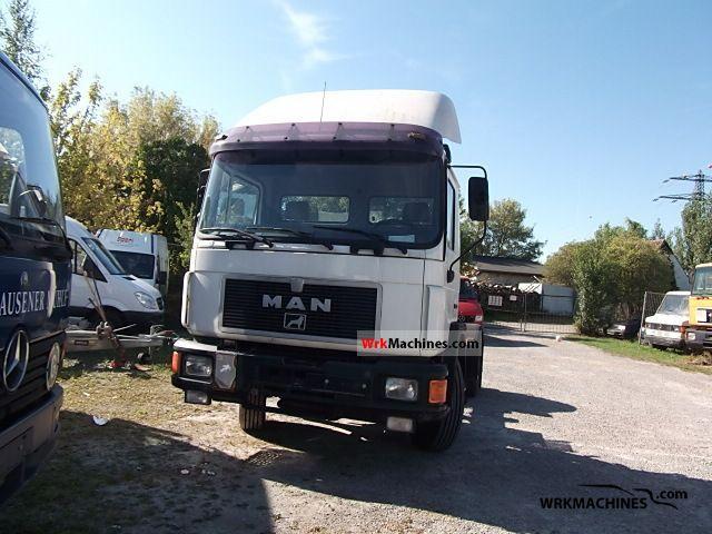 1996 MAN EL 222 Semi-trailer truck Standard tractor/trailer unit photo