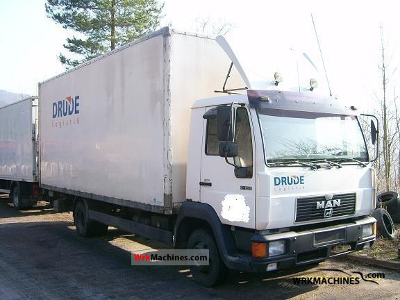 1996 MAN L 2000 8.153 Van or truck up to 7.5t Box photo