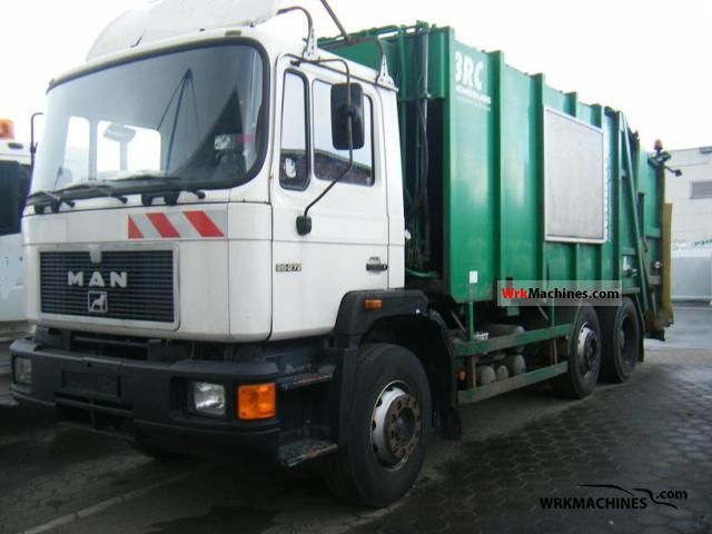 1994 MAN F 90 26.272 Truck over 7.5t Refuse truck photo