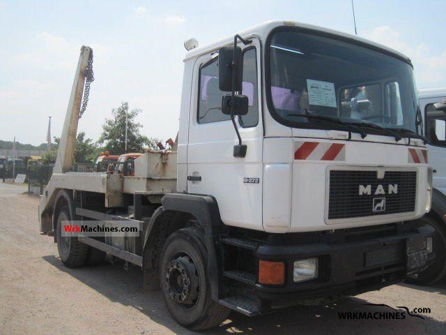 1992 MAN M 90 18.272 Truck over 7.5t Dumper truck photo