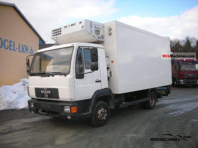 1996 MAN L 2000 8.153 Van or truck up to 7.5t Refrigerator body photo