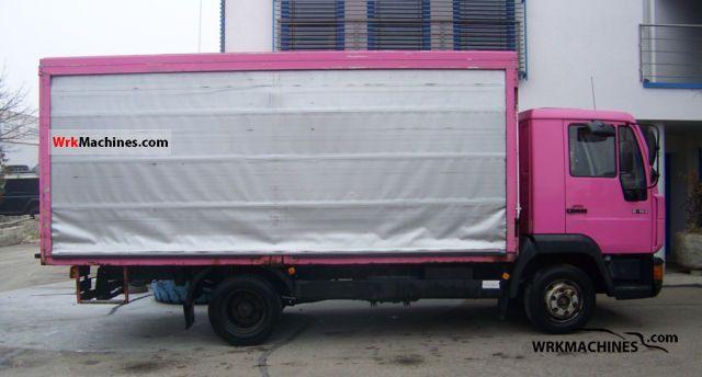 1996 MAN L 2000 8.153 Van or truck up to 7.5t Beverages van photo