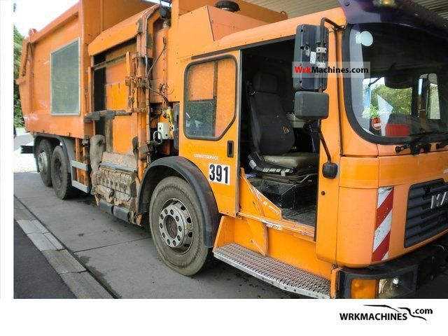 2000 MAN F 2000 26.293 Truck over 7.5t Refuse truck photo