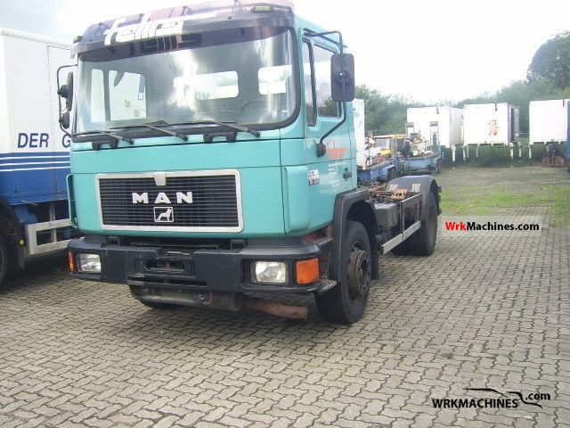 1995 MAN M 90 18.222 Truck over 7.5t Swap chassis photo