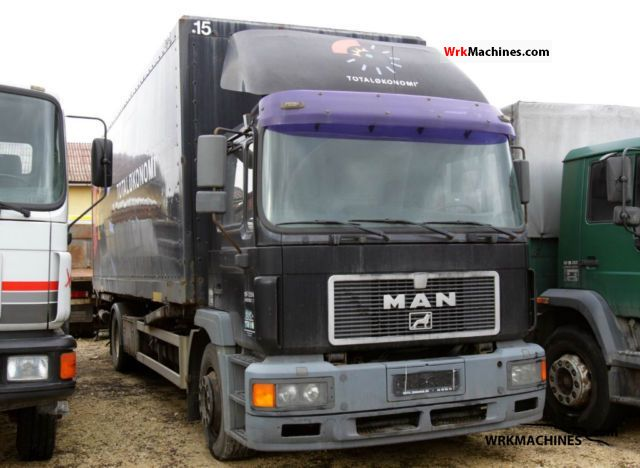 1999 MAN M 2000 L 18.224 Truck over 7.5t Swap chassis photo