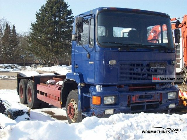 1993 MAN F 90 25.272 Truck over 7.5t Chassis photo