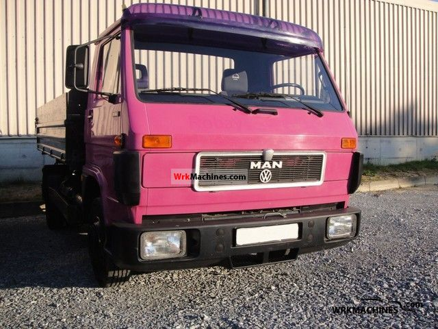 1993 MAN G 90 8.150 Van or truck up to 7.5t Tipper photo