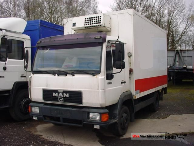 1994 MAN L 2000 9.153 Van or truck up to 7.5t Refrigerator body photo