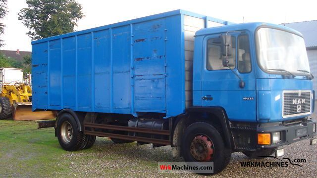 1996 MAN M 90 18.232 Truck over 7.5t Box photo