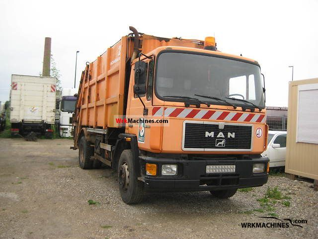 1993 MAN M 90 18.232 Truck over 7.5t Refuse truck photo