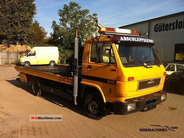 1993 MAN G 90 8.150 Van or truck up to 7.5t Breakdown truck photo