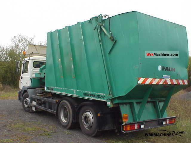 1997 MAN F 2000 26.293 Truck over 7.5t Refuse truck photo