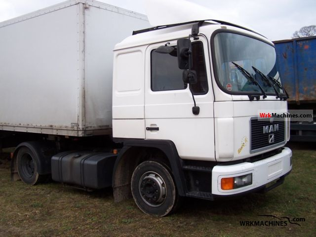 Tractor Trailer Units : Man el standard tractor trailer unit photos and info