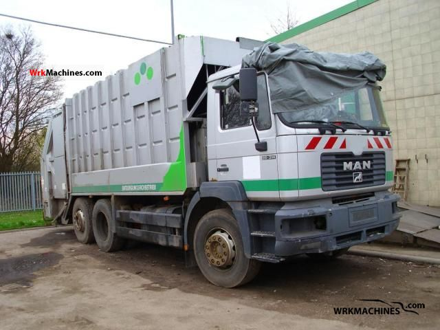 1999 MAN NG 263 Truck over 7.5t Refuse truck photo