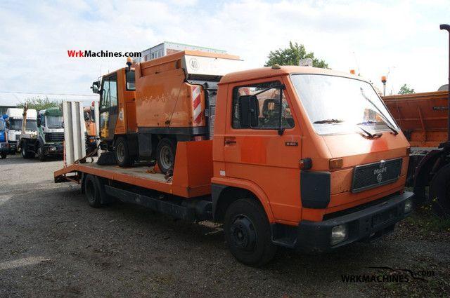 1992 MAN G 90 8.150 F Van or truck up to 7.5t Breakdown truck photo