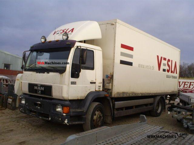1999 MAN L 2000 10.163 Truck over 7.5t Box photo