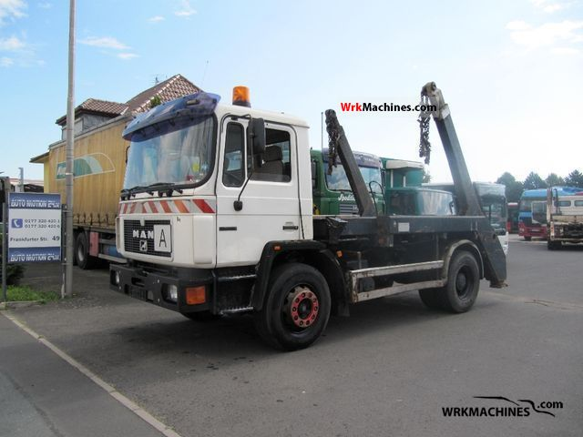 1994 MAN M 90 18.272 Truck over 7.5t Dumper truck photo