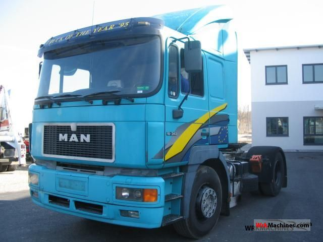 1997 MAN F 2000 19.343 Semi-trailer truck Standard tractor/trailer unit photo