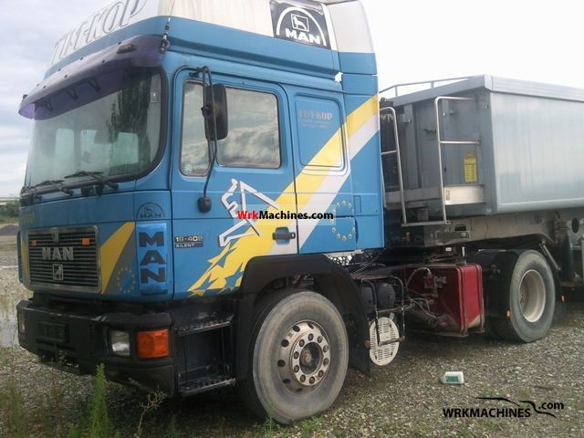 1994 MAN F 90 19.402 Semi-trailer truck Standard tractor/trailer unit photo