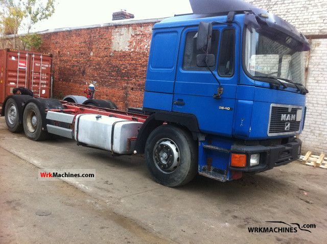 1994 MAN F 90 26.402 Truck over 7.5t Swap chassis photo