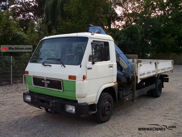 1992 MAN G 90 10.150 Truck over 7.5t Stake body photo