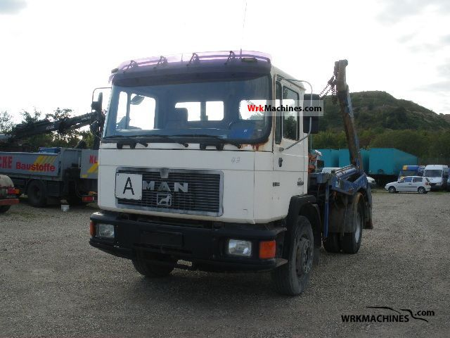 1998 MAN EM 222 Truck over 7.5t Dumper truck photo