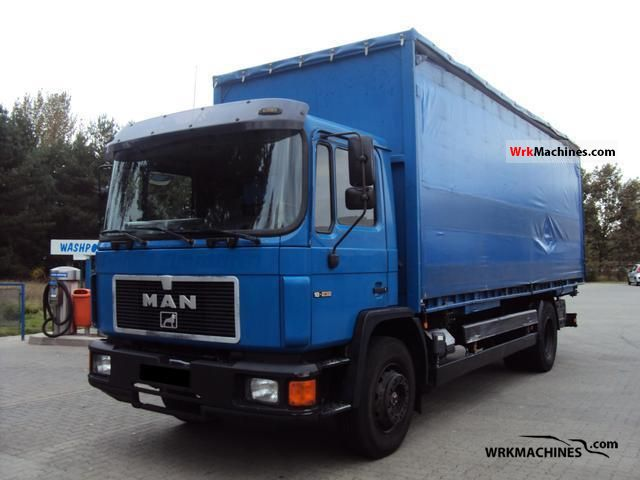 1996 MAN M 90 18.232 Truck over 7.5t Swap chassis photo