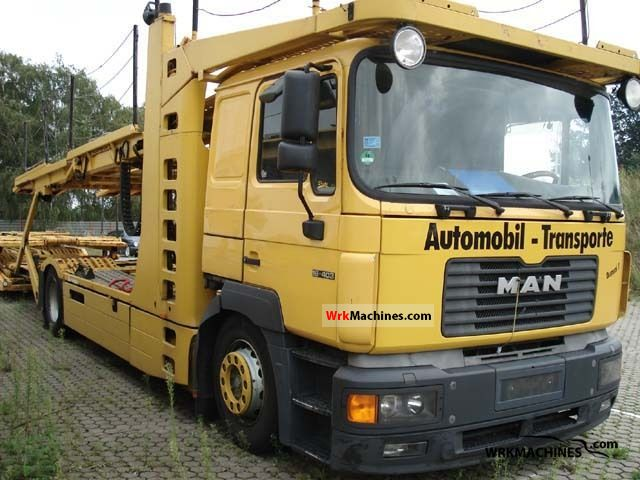 1997 MAN F 2000 19.403 Truck over 7.5t Car carrier photo