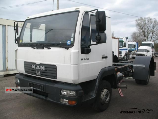 2004 MAN L 2000 8.150 Truck over 7.5t Swap chassis photo