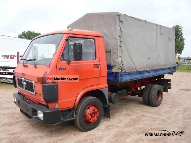 1993 MAN G 90 8.100 Van or truck up to 7.5t Tipper photo