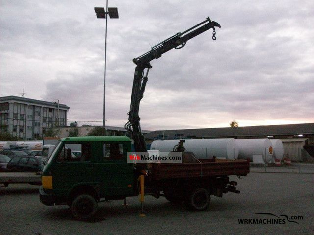 1992 MAN G 90 8.150 Van or truck up to 7.5t Tipper photo