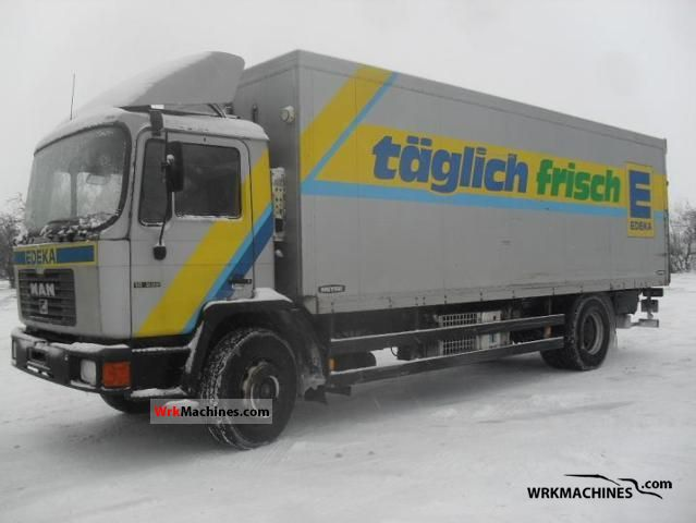 1998 MAN EL 262 Truck over 7.5t Refrigerator body photo