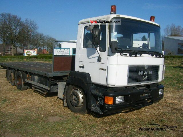1995 MAN F 90 26.322 Truck over 7.5t Stake body photo