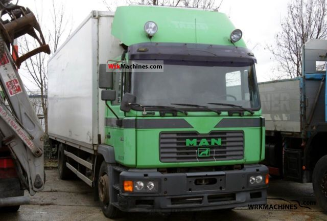 1999 MAN M 2000 L 18.284 Truck over 7.5t Refrigerator body photo
