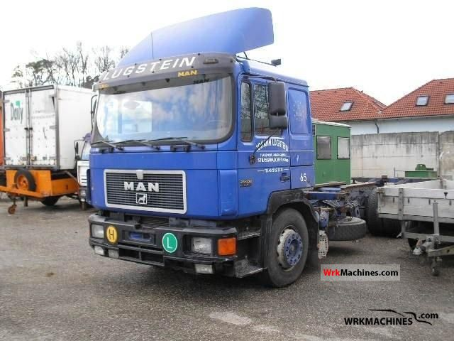 1998 MAN LION´S COACH 402 Truck over 7.5t Swap chassis photo