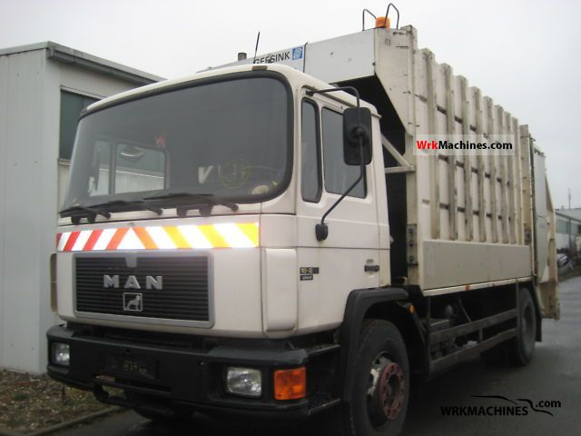 1993 MAN M 90 18.272 Truck over 7.5t Refuse truck photo