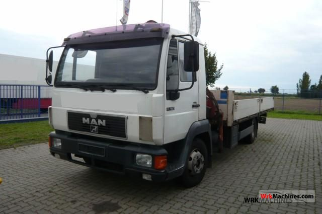 1998 MAN L 2000 8.163 Truck over 7.5t Stake body photo