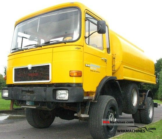 1989 MAN SM 192 Truck over 7.5t Tank truck photo