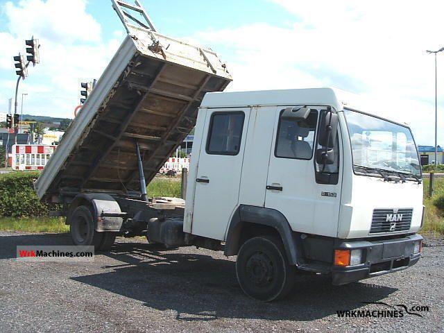 1994 MAN L 2000 8.153 Van or truck up to 7.5t Tipper photo