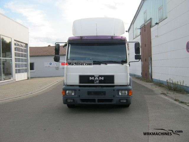 2000 MAN M 2000 L 14.284 Truck over 7.5t Swap chassis photo