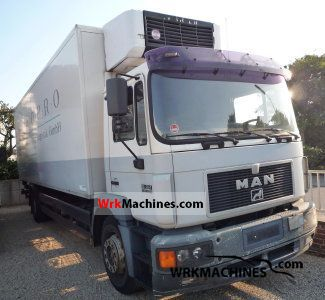 1997 MAN M 2000 L 18.264 Truck over 7.5t Refrigerator body photo