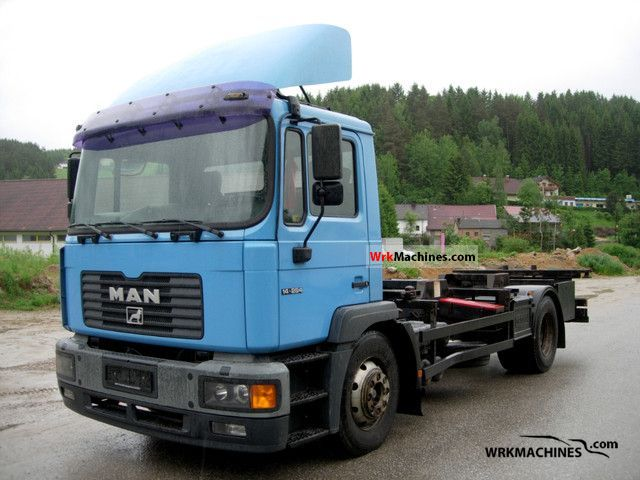 1999 MAN M 2000 M 14.284 MLLC Truck over 7.5t Swap chassis photo
