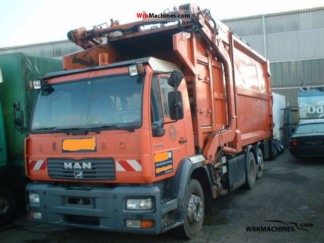 2001 MAN M 2000 L 280 Truck over 7.5t Refuse truck photo